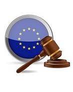 european law concept illustration design