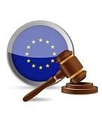 european law concept illustration design